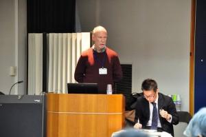 Spike presenting at Symposium © EAAFP