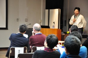 S Hagiwara presenting at Symposium © EAAFP
