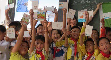 Kids from mainland China