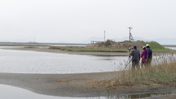 Survey team, North Korea May 2015 ADRIAN RIEGEN