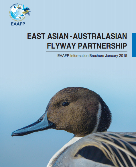 Cover Page of EAAFP Information Brochure 2015